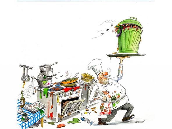 Nos coups de gueule3 for Cuisinier humour